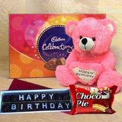 Remarkable Happy Birthday Chocolates Gift Hamper to Salt lake