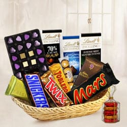 Signature Chocolate Basket Hamper to Nadia