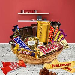 Wonderful Forever Chocolates Gift Hamper to Behala