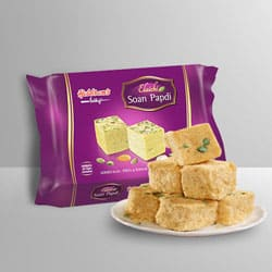Soan Papdi from Haldiram to Jalpaiguri