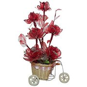 Fancy Red Coloured Long Lasting Flowers