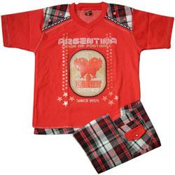 Red Kidswear for Boy.(7 year - 9 years)