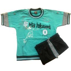 Aqua GreenKidswear for Boy.(4 year - 6 year)
