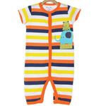 Colourful Kids Romper by MiniKlub