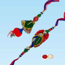 Dashing Bhaiya Bhabhi Rakhi Set