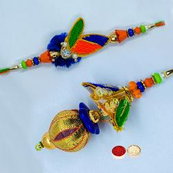 Astonishing Bhaiya Bhabhi Love Rakhi Set