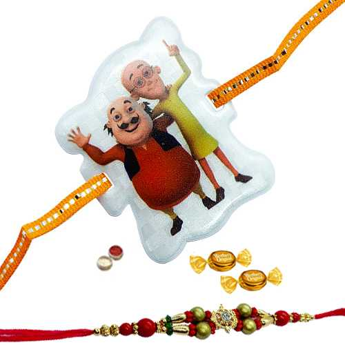 Adorable Duple Rakhi Collection