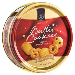 Mouth-watering Danish Butter Cookies