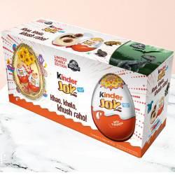Extraordinary Kinder Joy Chocolates Pack 6 Pcs.