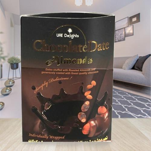 Sumptuous Magnum of Date-Almond-Chocolate Delicacy