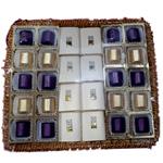 Decorative Tray of Handmade Chocolates (28 pcs.)