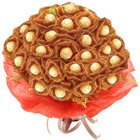 Love Bouquet of 24 Pcs. Ferrero Roacher Chocolates