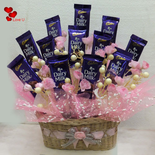 Gift Online Basket of Chocolates
