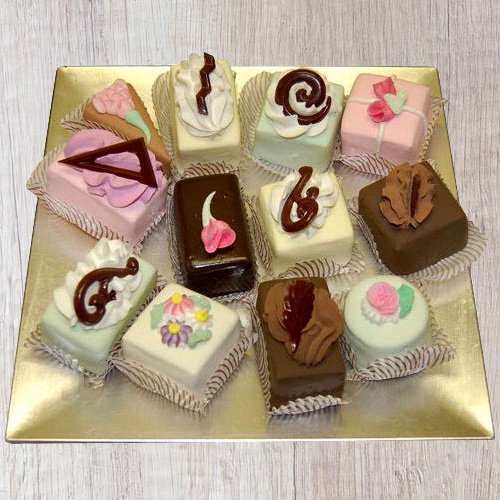 Send Online Assorted Pastries from Taj or 5 Star Bakery