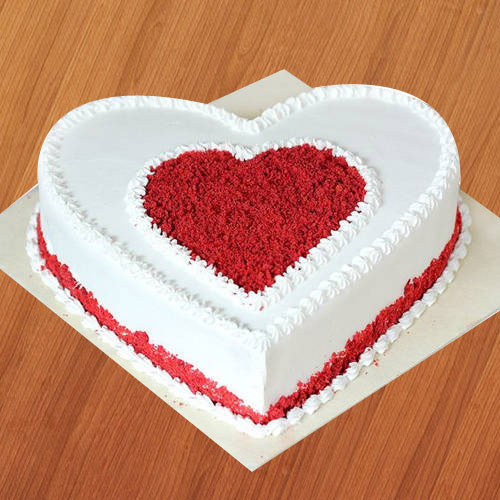 Book Online Heart-Shaped Chocolate Cake