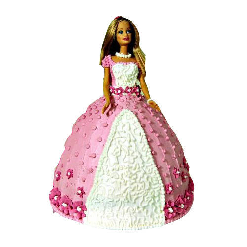 Book Online Barbie Doll Cake