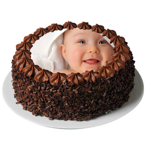 Gift Chocolate Photo Cake Online