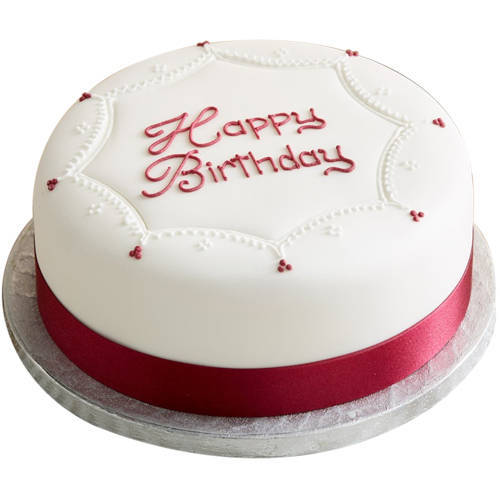 Shop Online Birthday Vanilla Cake