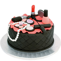 Send Makeup Kits Theme Cake Online