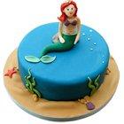 Ecstasy-to-Enjoy Mermaid Theme Cake