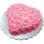 Candy-Coat Attachment Heart Shaped Designer Cake