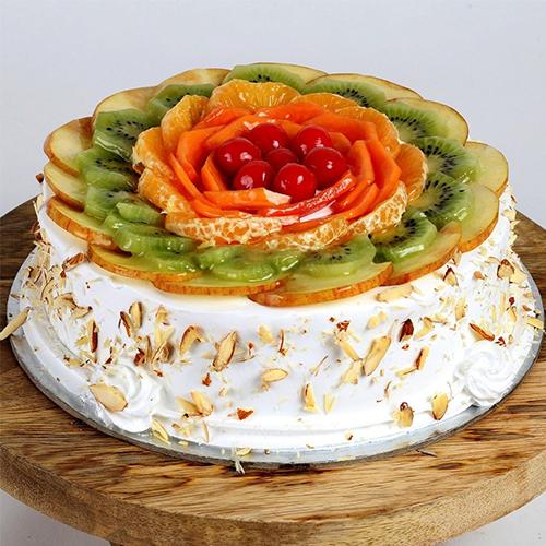 Appetite's Indulgence 1 Kg Fresh Fruit Cake