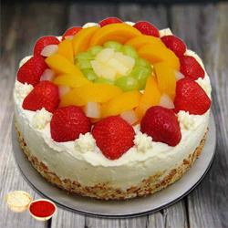 Gusto's Gladness 1 Kg Egg-less Fresh Fruit Cake