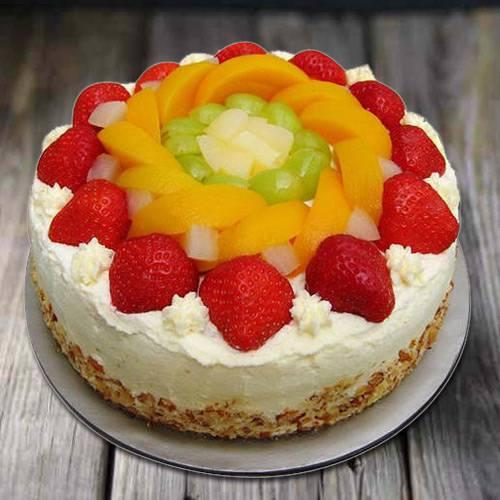 Gusto�s Gladness 1 Kg Egg-less Fresh Fruit Cake