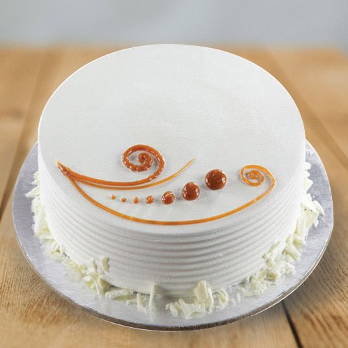 Delectable 1 Lb Vanilla Cake from 3/4 Star Bakery