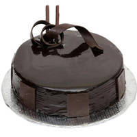 Lavish 1 Lb Dark Chocolate Cake from 3/4 Star Bakery