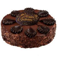 Majestic Birthday Celebration 2.2 Lb Chocolate Cake from 3/4 Star Bakery