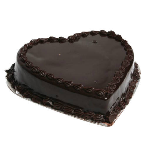 Shop Heart Shape Chocolate Truffle Cake Online