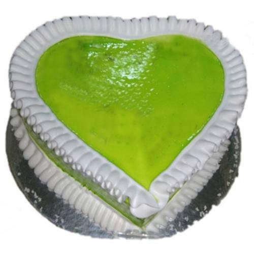 Buy Heart-Shape Kiwi Cake Online