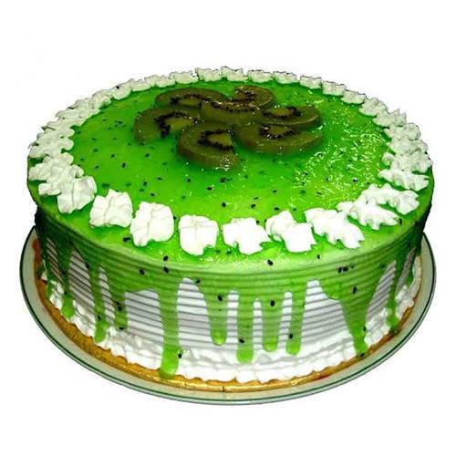 Online Order Eggless Kiwi Cake