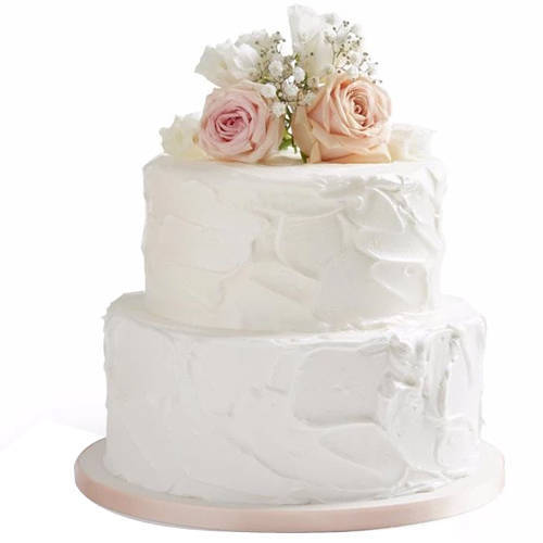Deliver 2 Tier Wedding Cake Online