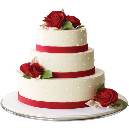Deliver Online 3 Tier Wedding Cake