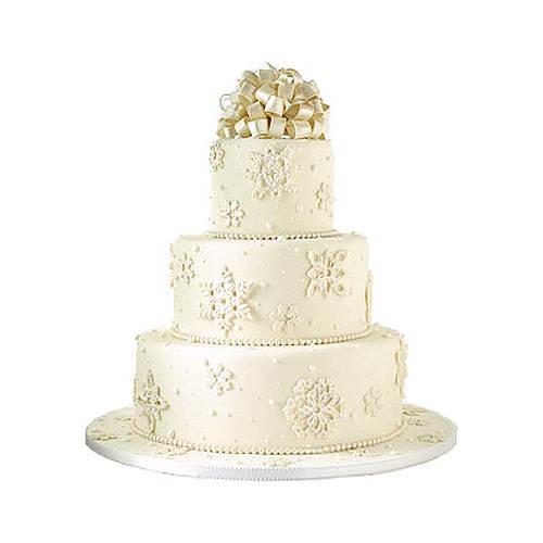 Buy Online 3 Tier Wedding Cake