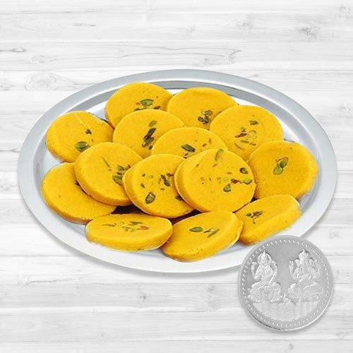 Haldirams Pedas N Thali , Free Coin