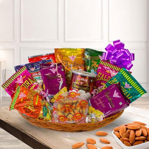 Divine Snacks Hamper for Festive Celebration