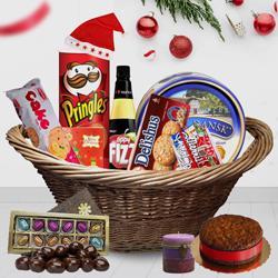 Sweet Sensation Christmas Gift Basket