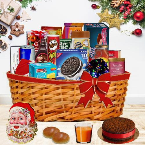 Taste of Happiness Christmas Gift Basket