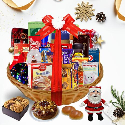Embrace the Hypnotic Season Christmas Basket<br>
