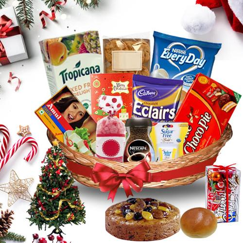 Delicious Christmas Treasure Basket<br>
