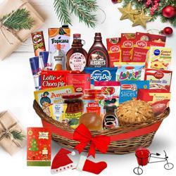 Exotic Christmas Brunch Basket<br>