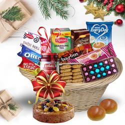 Basketful of Enigmatic Christmas Bites<br>