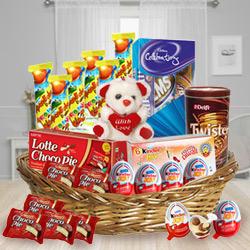 Superb Arrangement of Kids Chocolates