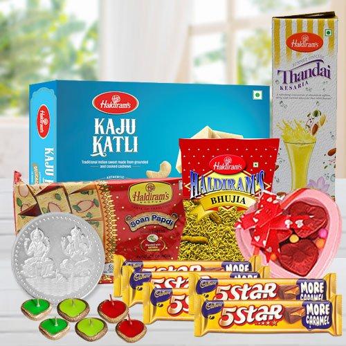Exquisite Diwali Special Gourmet Basket