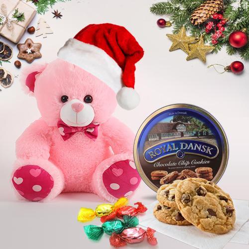 Captivating Teddy Bear and Chocolates