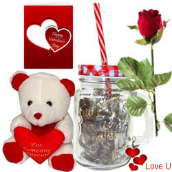 Fulfillment of Romance Valentine Gift Hamper