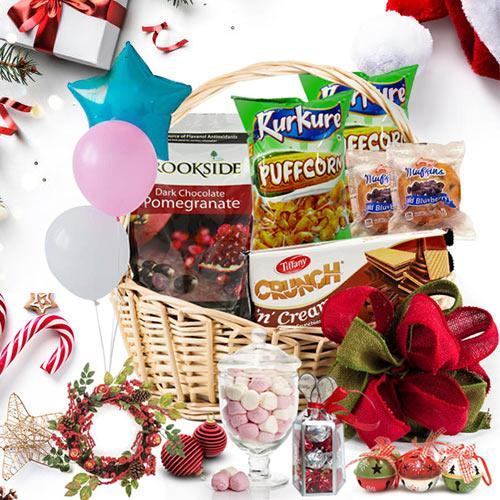 Festive Celebration Gift Basket